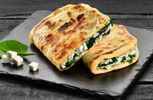 Spinach and Feta Lepény